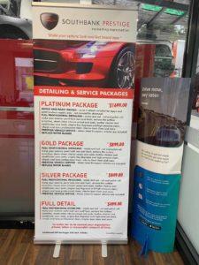Southbank Prestige Service Centre Packages